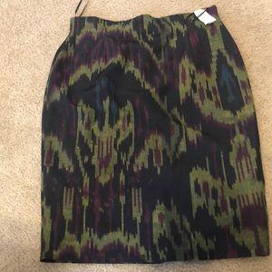 Multi color Pencil Skirt Lafayette
